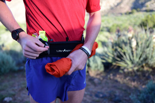 UltrAspire Fitted Race Belt 2.0 Chest Size: 34-36 Black, Large