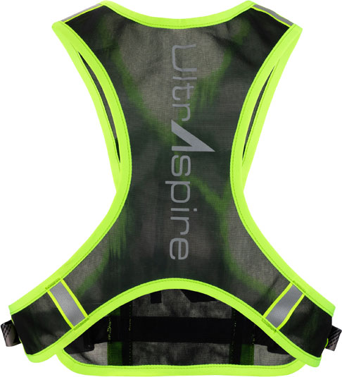 Back of the Neon Visibility Vest