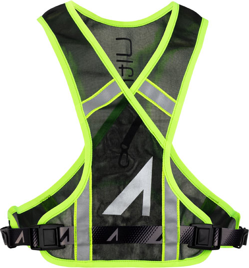 Front of the Neon Visibility Vest
